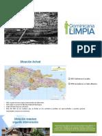 Presentación Gráfica Plan Dominicana Limpia