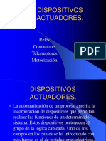 DISPOSITIVOS ACTUADORES