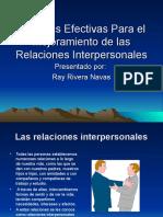 tecnicasefectivasparamejorarrelacionesinterpersonales-101128131601-phpapp01.ppt