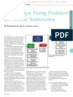 Dye Fixing Problems