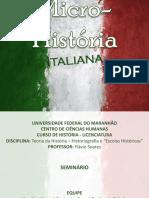 Micro Historia Italiana