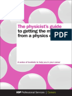 IOP_Getting the Most From Your Physics Degree