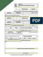 SST-F-02 Registro de Accidentes de Trabajo