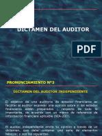 Dictámen Del Auditor