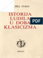 Istorija Ludila u Doba Klasicizma - Misel Fuko