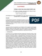 Articulo Cargador de Baterías Li Ion de Una Celda Desde Puerto Usb
