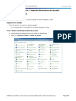 6.1.2.3 Lab - Create User Accounts in Windows 7 and Vista
