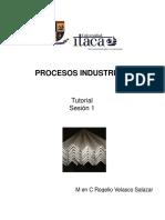 Procesos Industriales Sesión 1