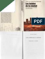 Villacanas Berlanga Jose Luis Los Latidos de La Ciudad Una Introduccion a La Filosofia y Al Mundo Actual (Reducido)