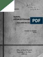Naval Hydrodynamiques - High Performances Symp - Netherland 1963