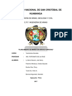 INF. Planeamiento de Minado en Bravas Auriferas