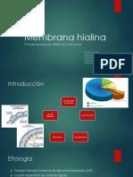 Membrana hialina  Final.pptx