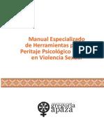 Manual Peritaje Forense Violencia Sexual