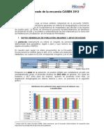 Análisis Comparado de La Encuesta CASEN 2013