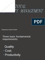 Total Quality Management-Subroto Ghosh