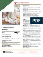 Free Pattern - Crochet Stroller Blanket LW1578