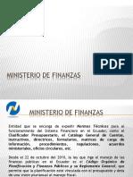 Ministerio de Finanzas Presu II