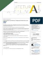 Arquitetura Ativa!_ Tutorial Render Vray Sketchup_ Configuração Render Básico para Interiores.pdf