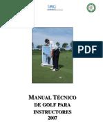 Manual Tecnico de Golf 2007