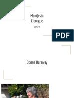 Manifesto Ciborgue - Donna Haraway
