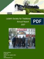 Activity Report Ladakh 2007