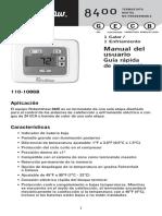 8400 Thermostat manual_Spanish_110-1086B.pdf