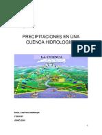 Metodo Para Hallar Presipitacion en Cuenca
