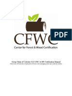CoC Group Certification Manual r2