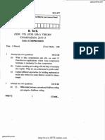 Ecs-077 Data Compression 2014-15