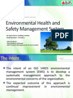 Environmental Health and Safety Management System