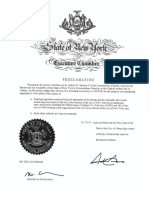 Cuomo Special Session Proclamation