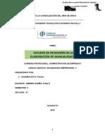 Estudios de Inversión de Huaman Asto Viviana 5a Administración