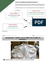 Quelles Sont Les Différentes Familles de Matériaux Cm1 Cm2 Exercices