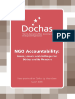 Ngo Accountability Paper