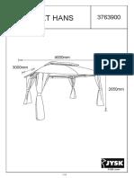 R317081 Assembly Instructions SANKT HANS