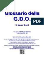Glossario Della GDO
