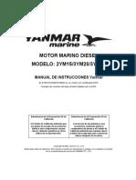 Manual Motor Yanmar