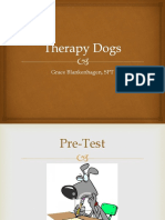 therapy dogs inservice