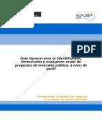 Pautas Para La IFyES de PIP Perfil 21 Abril 2014