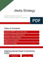 aramark fall 2017 social media strategy