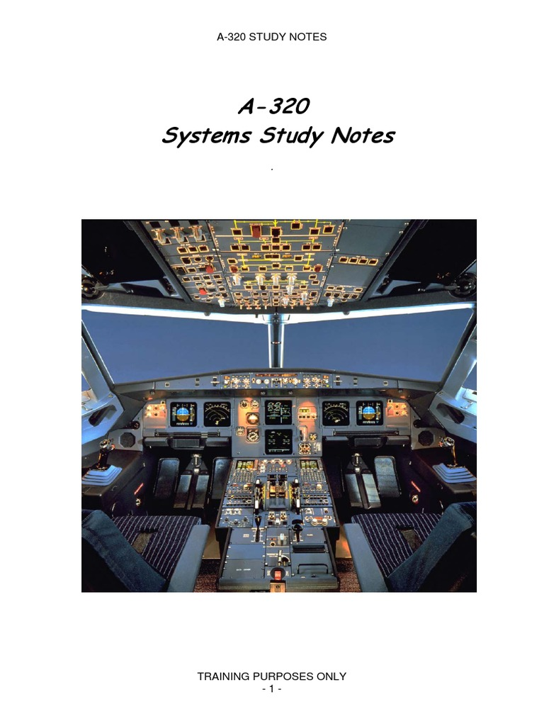 Airbus a320 Systems Review | Landing Gear | Valve