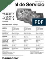 Panasonic Chassis Br2 Tc20g11a Tc-29g11a-p Ms