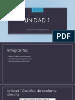 Unidad 1 analisis de cd