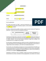 Modelo de Amonestación Escrita (Tardanzas)