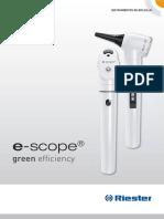 E-scope Otoscopio Led Riester (1)