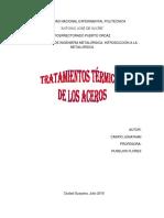 Tratamientos Termicos de Los Aceros Jonathan Carpio