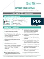 Becas del Centro Pre de Bellas Artes del ciclo regular 2017-2