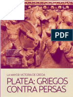Platea, Griegos Contra Persas