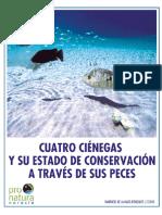 Cuatro Ciénegas y su estado de conservación a través de sus peces