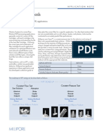 Filter Sizing Methods Application Note